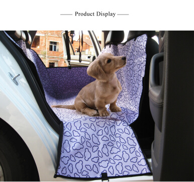 Oxford Fabric Water Resistant Pet Dog Car Seat Blanket Cover Mat