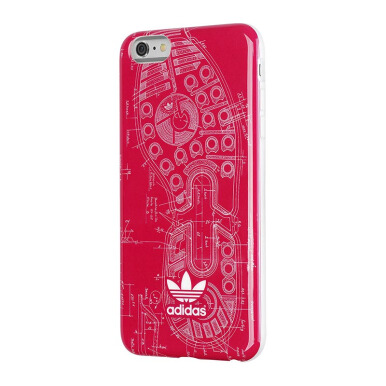 ADIDAS TPU/Rubber Case for iPhone 6/6s - Vivid Berry Sole
