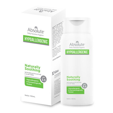 ABSOLUTE Hypoallergenic Naturally Soothing 150 ml