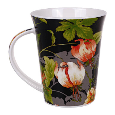 NAKAMI New Bone Mug Flower Set of 3 - NK-TCM001-A053
