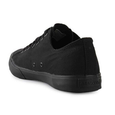AIRWALK Basic Canvas - Black Black/White Black