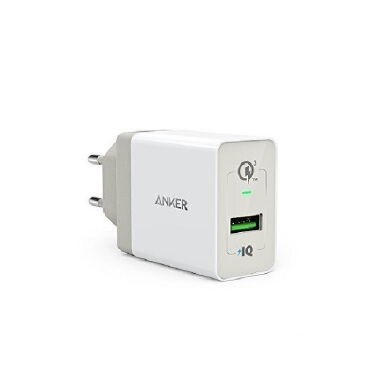 ANKER PowerPort+ 1 With QC 3.0 & PowerIQ EU - Black [A2013311]