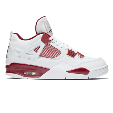 NIKE Air Jordan 4 Retro - White Red