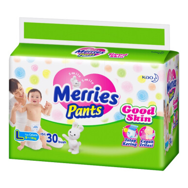 MERRIES Popok Pants Good Skin L 30