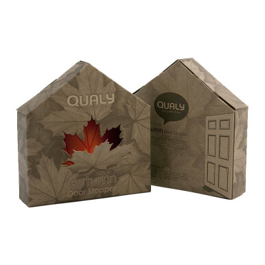 QUALY Autumn Door Stopper - Red/QL10072RD