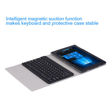 Original BT 3.0 Chargeable and Foldable Ultra-thin PU Leather Keyboard Case for Chuwi Hi10 Tablet PC
