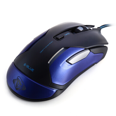 E-BLUE M - 668 Professional USB Wired Game Mouse with  LED Flashing DPI Adjustment