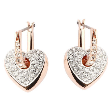 SWAROVSKI Even Dangling rose gold earrings 5190213 Jewelry(Perhiasan)