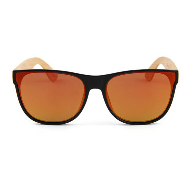 TUTU New Hybrid Wayfarer Red Wooden Sunglasses [00045]