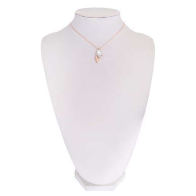 Cute Dolphin Shape Rhinestone Necklace for Women