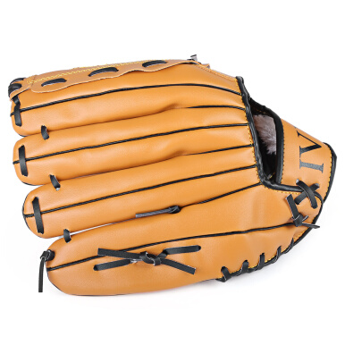 Outdoor Sports Brown Practice Left Hand Baseball Glove Softball Equipment(10.5)