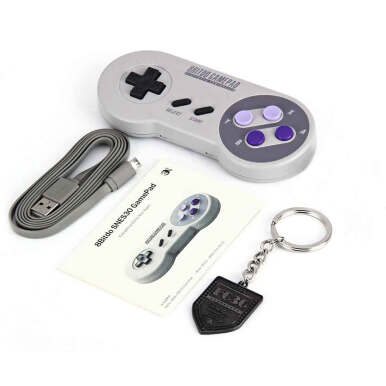8Bitdo SNES30 Pro Wireless Bluetooth Gamepad For iOS Android PC Mac Linux