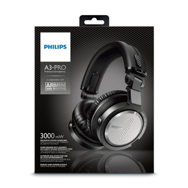PHILIPS A3PRO DJ HEADPHONE HITAM