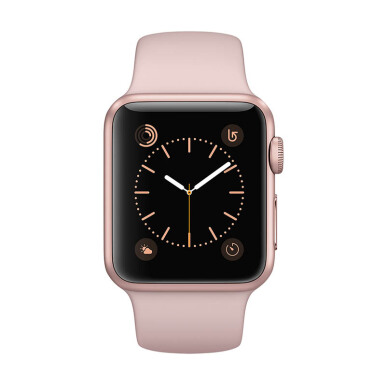APPLE Watch Series 1 42mm Rose Gold Aluminum Case with Pink Sand Sport Band