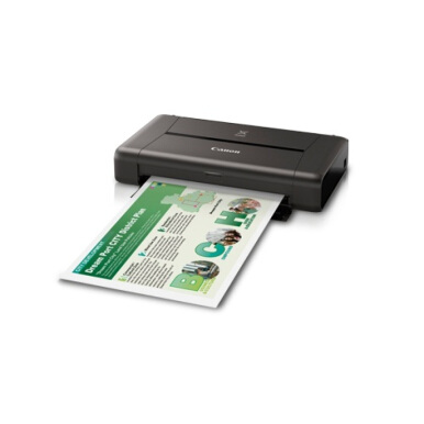 CANON pixma IP110 wifi w/bat printer