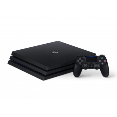 SONY Playstation 4 Pro 1TB - Jet Black CUH 7015 - Reg 2 Euro
