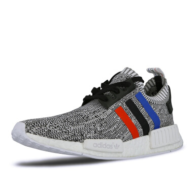 ADIDAS NMD R1 PK Tri Color - Grey/White [42.7] BB2888