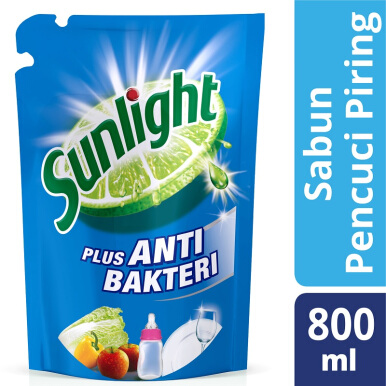 SUNLIGHT Anti Bacteria New Refill 800ml