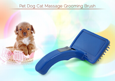 Professional Pet Dog Cat Massage Comb Grooming Brush LARGE