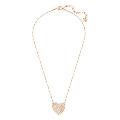 SWAROVSKI Cupid Small Rose Gold Pavé Crystal Fancy Necklace 5198939 Jewelry(Perhiasan)