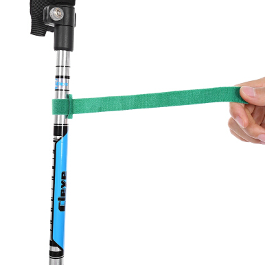 Cleye Stretchable Alpenstock Aluminum Alloy Walking Stick