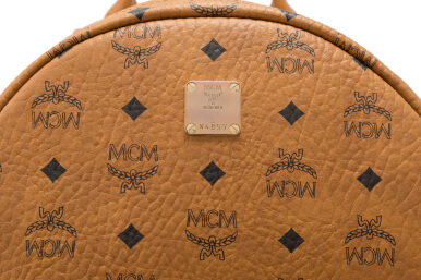 MCM Side Stud Stark Medium Backpack