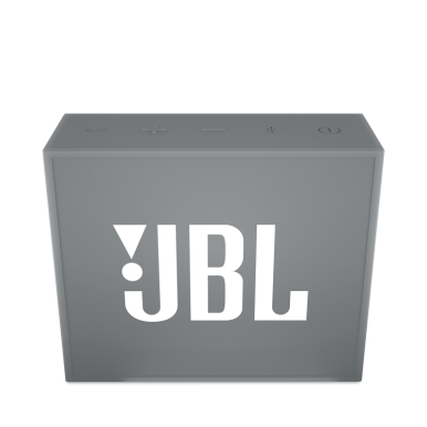 JBL Go Bluetooth Portable Speaker - Grey