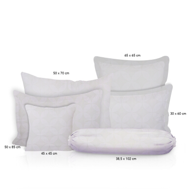 Celina Premium Brand by King Rabbit Set Seprei & Quilt Cover King Size Royal Kawung White /180x200x40 cm White