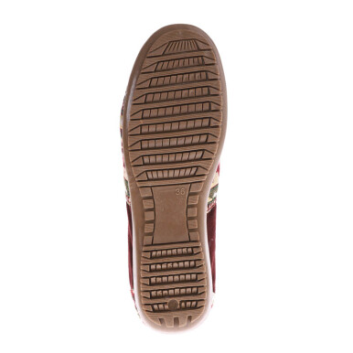 ANYOLORICH Ladies Flat Shoes B 77 - Maroon - 36