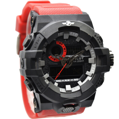 Pilot Dualtime 1163MB - Red Black