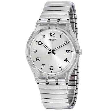 Swatch Date GM416 Silver