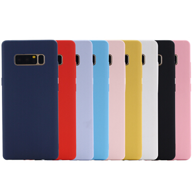 Smatton Case hp VIVO Y67 V5 Rubber Silicone Case Full Protective Candy Color Soft TPU Cover Shell Black