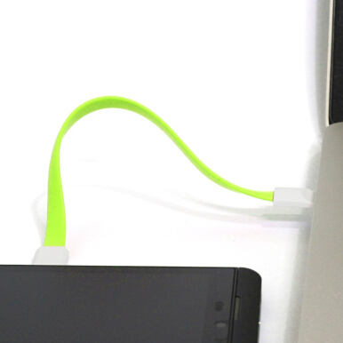 Uneed Magnetic Micro USB Cable - Kabel Data Magnet - UCB001 - Original -  Green