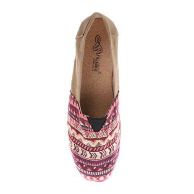 ANYOLORICH Ladies Flat Shoes B 70 - Cream - 36