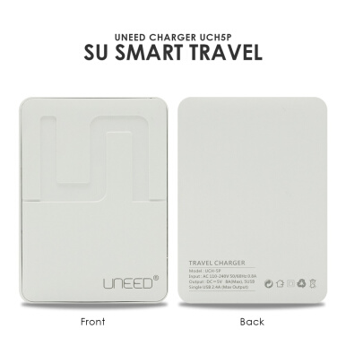 UNEED Smart Travel Charger 5 Port Max Output 8A - White UCH5P