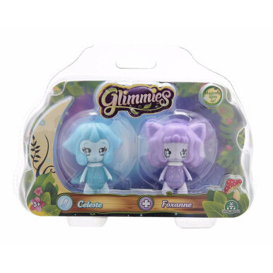 Glimmies Glow In The Dark Celeste Foxanne Figure - 5940301 - Multicolor