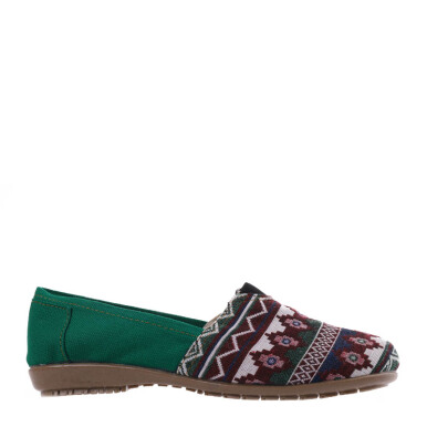 ANYOLORICH Ladies Flat Shoes B 73 - Green - 36