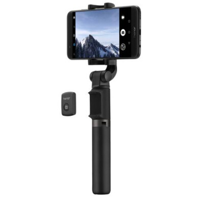 Huawei Honor Wireless Bluetooth Tripod 360 Degree Rotation Adjustable Selfie Stick for MobilePhone Universal Black