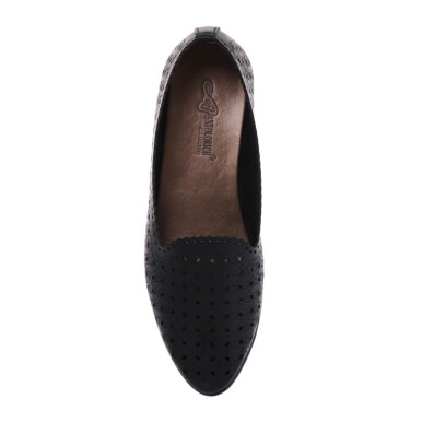 ANYOLORICH Ladies Flat Shoes SM 16 - Black - 37