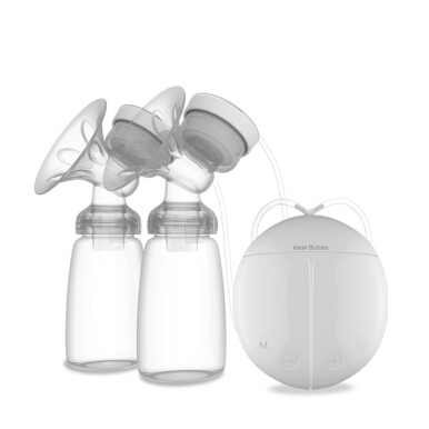 Powerful Automatic Free Breast Pump Nipple Suction Breast Electric Breast Pump White
