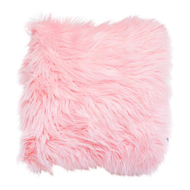GLERRY HOME DÉCOR Blossom Fur Cushion - 40x40Cm