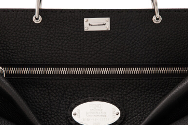 Fendi Men's Selleria Small Peekaboo