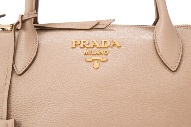 Prada Vitello Daino Shopping Bag