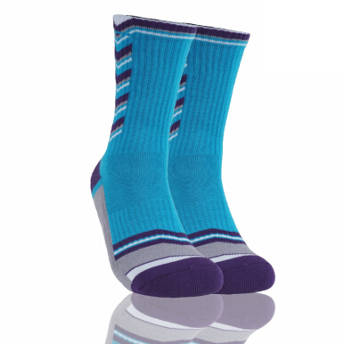 Stayhoops Performance Sock 'Metroliptik' - Blue Aqua