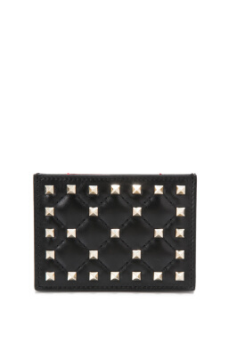 Valentino Garavani Rockstud Spike Card Holder