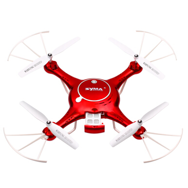 Fireflies Syma X5UW Photo drone/WIFI HD camera/Self-drone drone Red