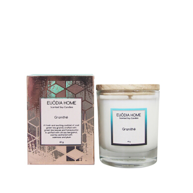 EUÓDIA HOME Granithe Travel Soy Scented Candle 60 g