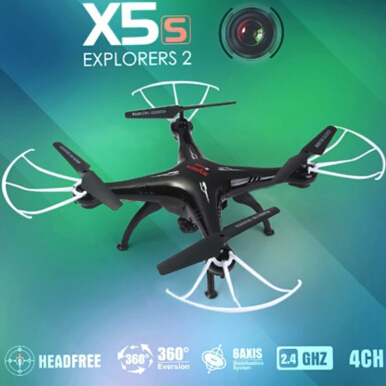 Vaping Dream - Syma X5SC 4CH 6 Axis Gyro RC Quadcopter with 2.0MP Camera Black One Size
