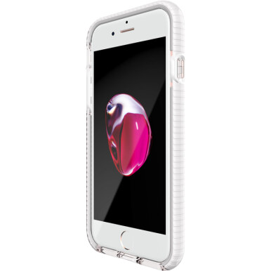 TECH21 EVO CHECK CASE IPHONE 7 CLEAR / WHITE ( T21-5330 )