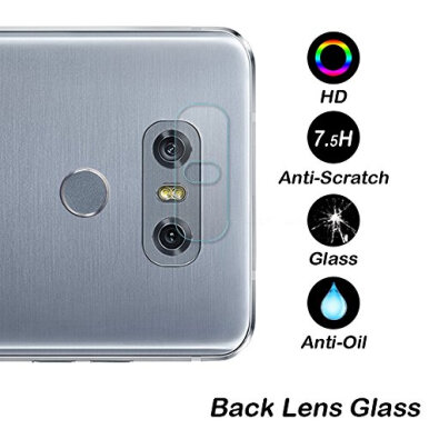 Tempered Glass Camera Film Protector 7.5H For LG G6 Plus Clear